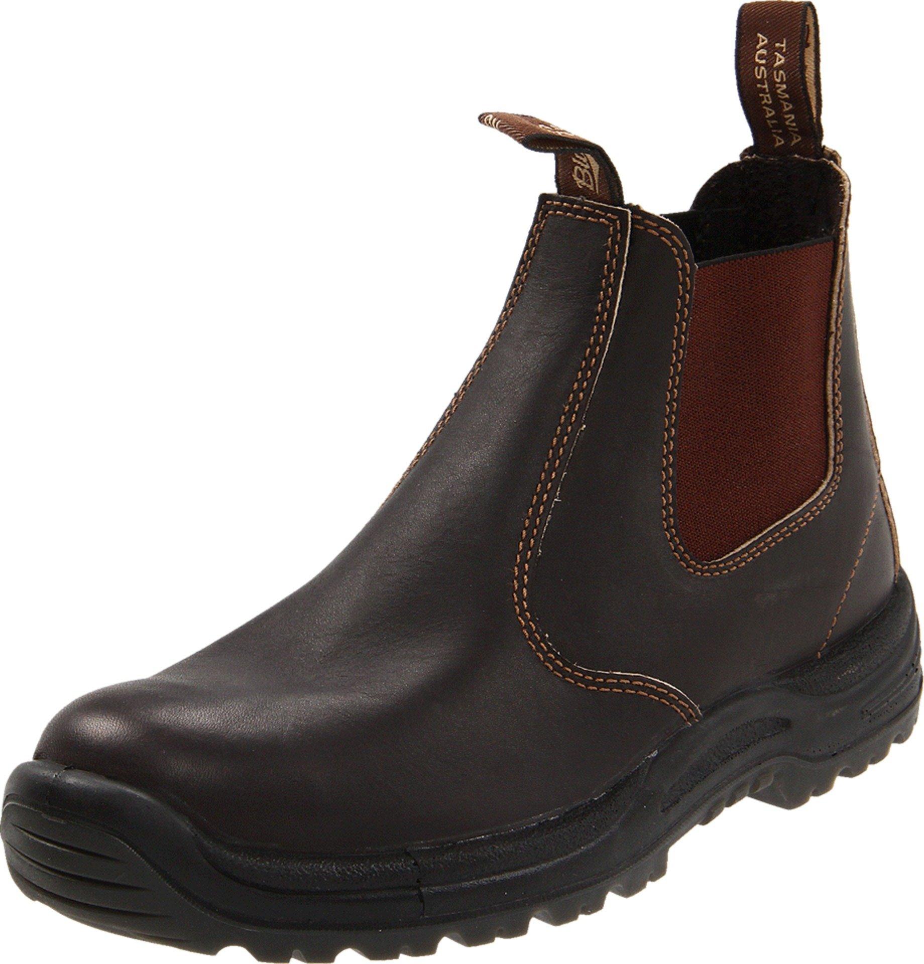 Blundstone 490 Bump-Toe Boot,Stout Brown,9 AU (US Women's 11.5 M/US Men's 10 M) by Blundstone