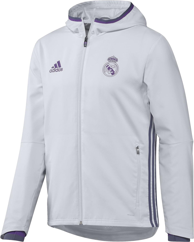 adidas Veste Real Madrid FC Presentation Gris Homme | eBay