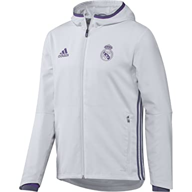 adidas Real Madrid CF Pre Pantalón, Hombre