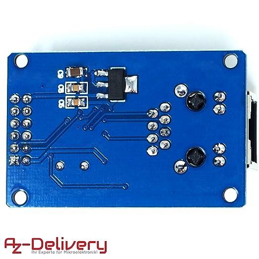 AZDelivery SIM 900 GPRS/GSM Shield + GPS Module + SIM 808 + Ethernet Shield con Gratis eBook ENC28J60: Amazon.es: Informática