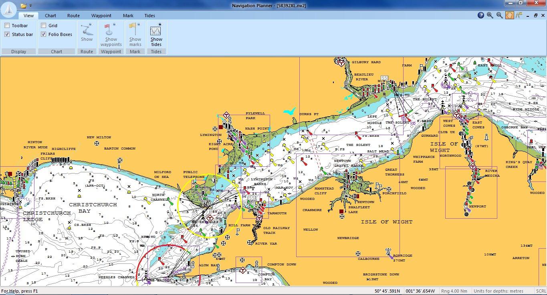 Navionics Navplanner - Software de navegación para PC ...