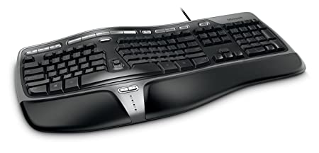 Review Microsoft Natural Ergonomic Keyboard