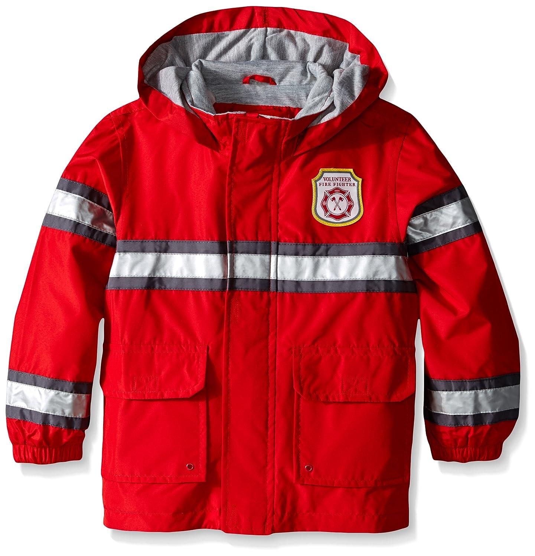 Carters Boys Toddler Fireman Raincoat Slicker