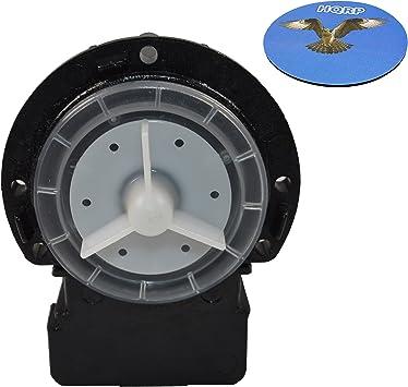 Amazon Com Hqrp Drain Pump For Lg Wm2455hw Wm2487hrm Wm2496hsm Wm2677hsm Wm2688hnm Wm2655hva Wm2801hwa Wm2901hva Wm3050cw Wm3070hwa Wm3150hvc Wm3001hra Wm3431hs Wm3270cw Wm3360hrca Washer Hqrp Coaster Home Improvement