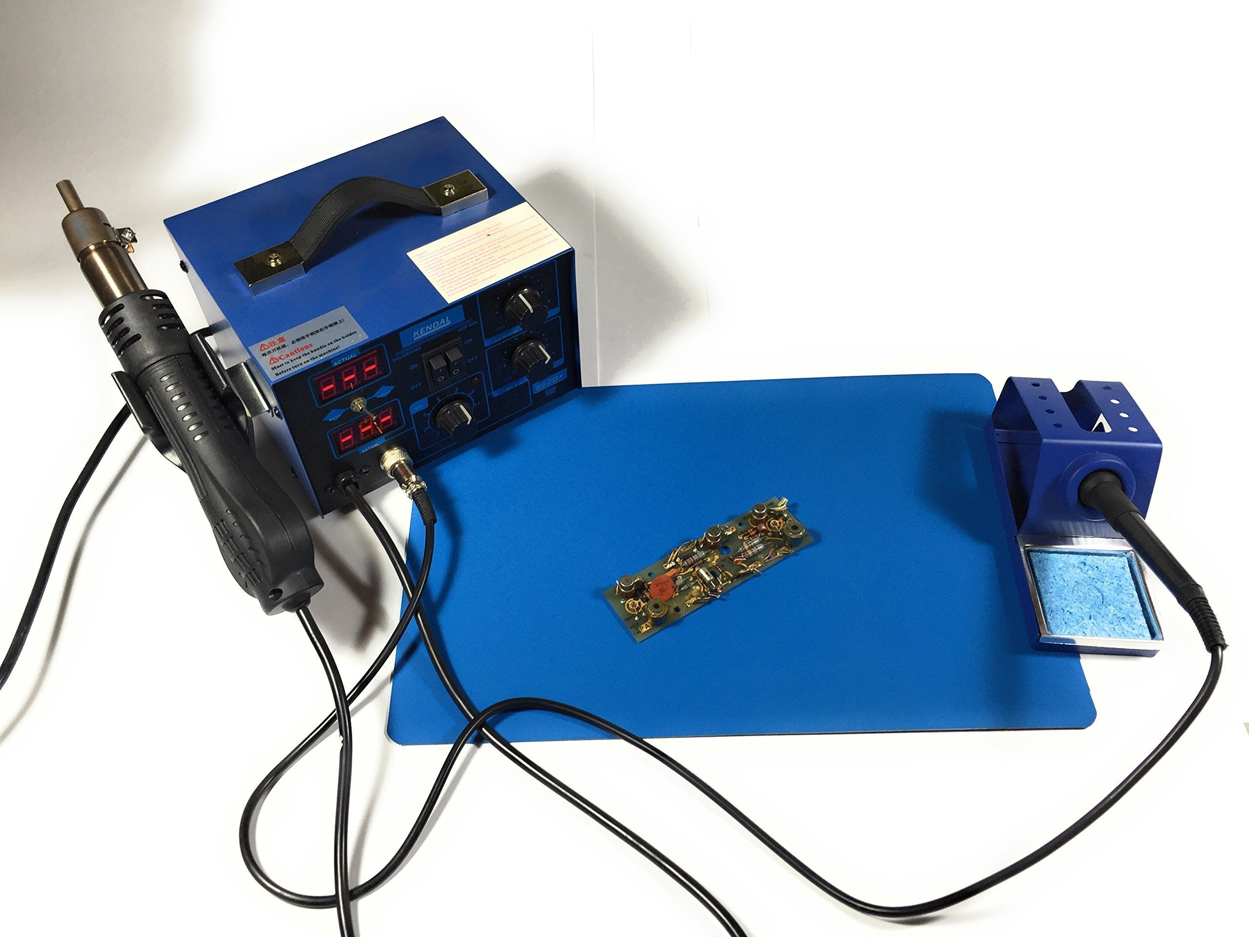 Anti Static Heat Resistant Soldering / Hot Air Rework Mat or Pad, Multi Use, Upcycled, $5.00 REBATE, USA Made, Over 50 Sold