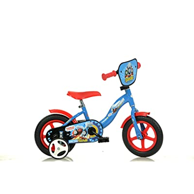 Dino Bikes 108L-THO Thomas & Friends Kids Bicycle, Blue: Toys & Games