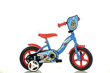 Dino Bikes 108L Tho Niños Metal Azul, Rojo bicicletta ...