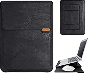 Nillkin Multifunction Laptop Sleeve Case PU Leather, Laptop Stand with Mouse Pad, for 13.3 inch New MacBook for HP/Pro Dell XPS 13 Lenovo Thinkpad HP/Acer Chromebook 13