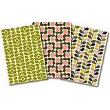 Orla Kiely Modernist Stems Notebook Trio Cards