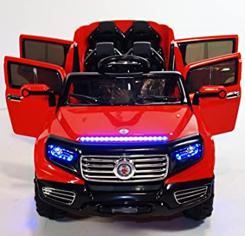 KIDS CAR Power Wheels 4 DOORS With Parent REMOTE Control 12V