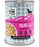 """I and love and you"""" Naked Essentials Wet Dog Food - Grain Free and Canned (Variety of Flavors)"""