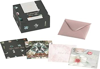 Ted Baker Linear Gem Note Card Set