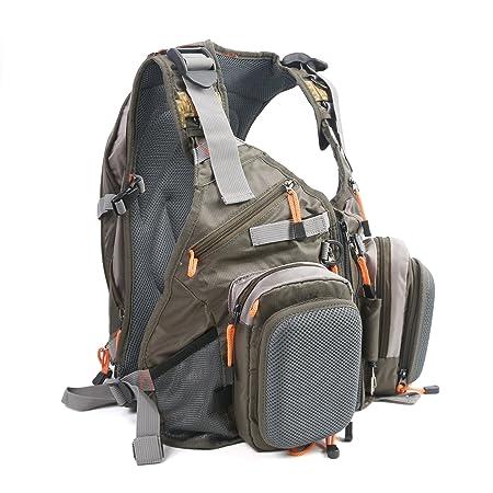M MAXIMUMCATCH Maxcatch Fly Fishing Vest Pack Fishing Vest Fishing Sling Pack Fishing Backpack
