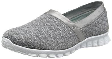 Skechers Ez Flex Bank Roll, Women's Low-Top Sneakers, Grey (Gry)