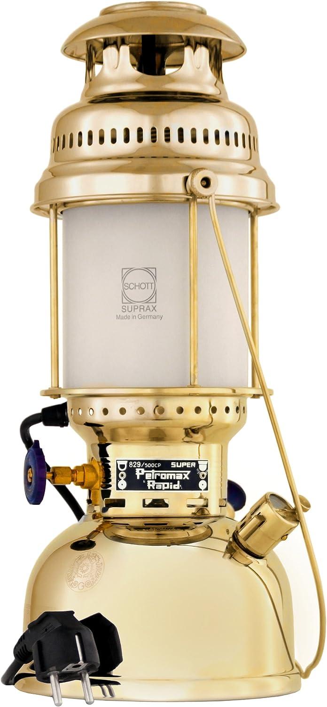 PETROMAX(ペトロマックス) 電気ランタン エレクトロ ブラス 家庭用コンセント使用 60W 【日本正規品】 12509 ブラス