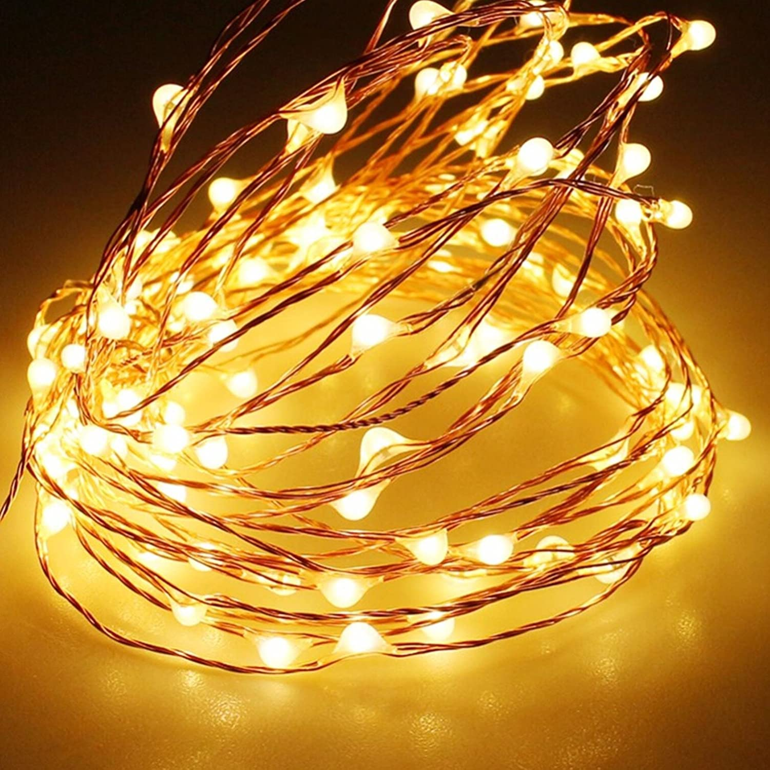 Amazon.com : Solar String Lights, Sogrand Outdoor Garden Decorative ...