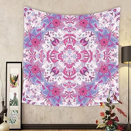 Amazon.com: Gzhihine Custom tapestry Mauve Decor Tapestry Arabesque ...