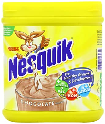 Nestle nesquik chocolate flavour milk powder 2x500g tubs amazon nestle nesquik chocolate flavour milk powder 2x500g tubs sciox Choice Image