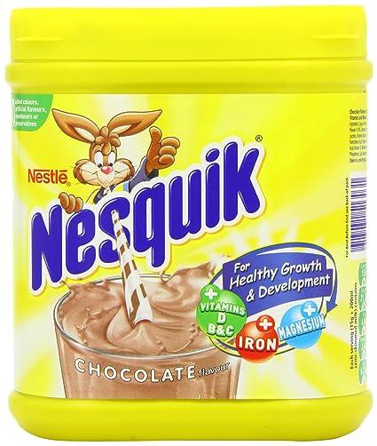 Nestle Nesquik Chocolate Flavour Milk Powder Original Nesquik Chocolate Milkshake Tub Imported From The UK England