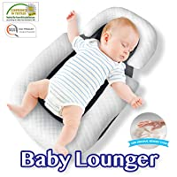 Comfyt Baby Lounger Portable Bassinet Baby Bed Baby Safe Cocoon Baby Pillow Travel...