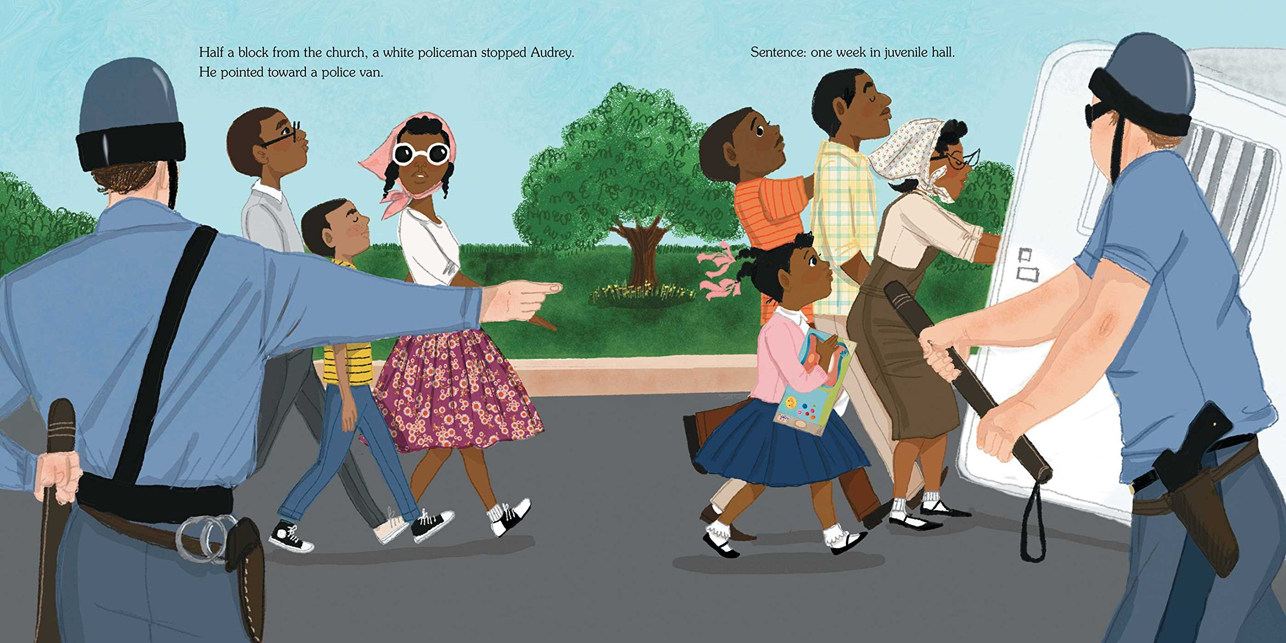 The Youngest Marcher: The Story of Audrey Faye Hendricks, a Young Civil Rights Activist by ATHENEUM (Image #7)