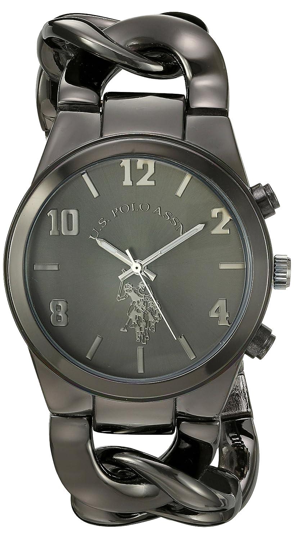 U.S. Polo Assn. Women s USC40175 Analog Display Analog Quartz Black Watch