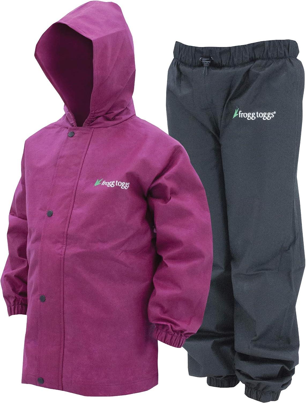 Adventure Togs Kids Outdoor Waterproof Windproof Suit Childrens Jacket and Trousers Rain Set