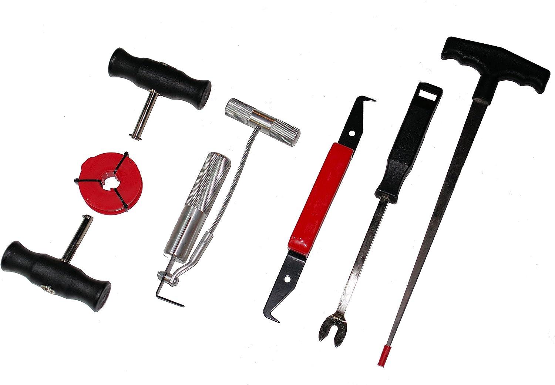 Druckluft Scheiben Ausglaser Werkzeug Messer  für KFZ  Windschutzscheiben