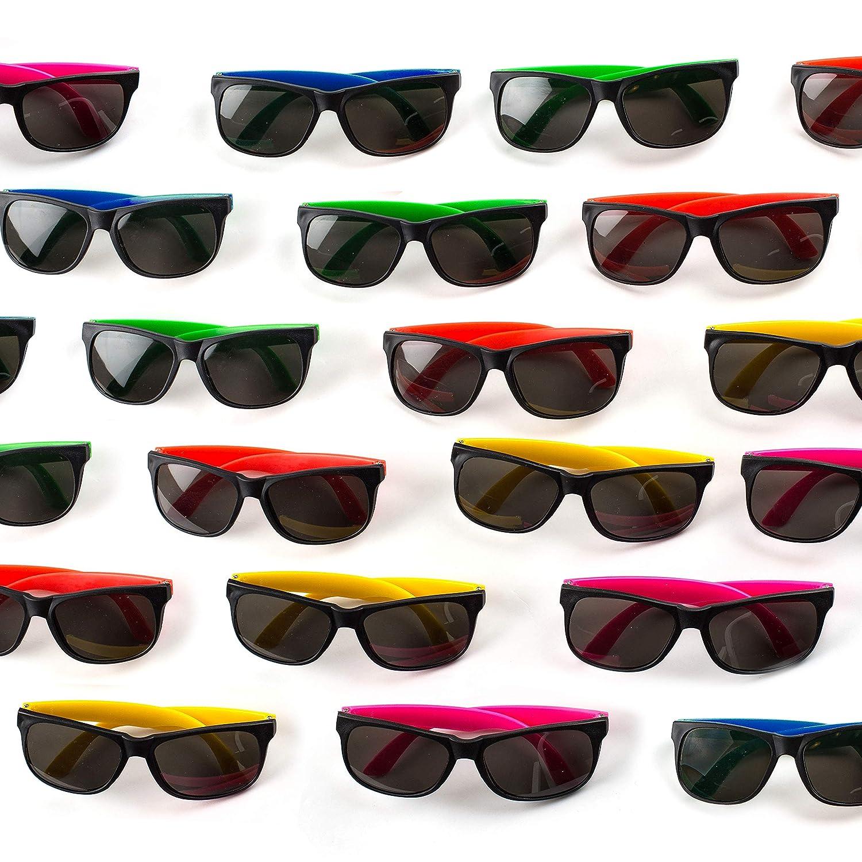 Amazon.com: Neliblu - Paquete de 30 gafas de sol para niños ...