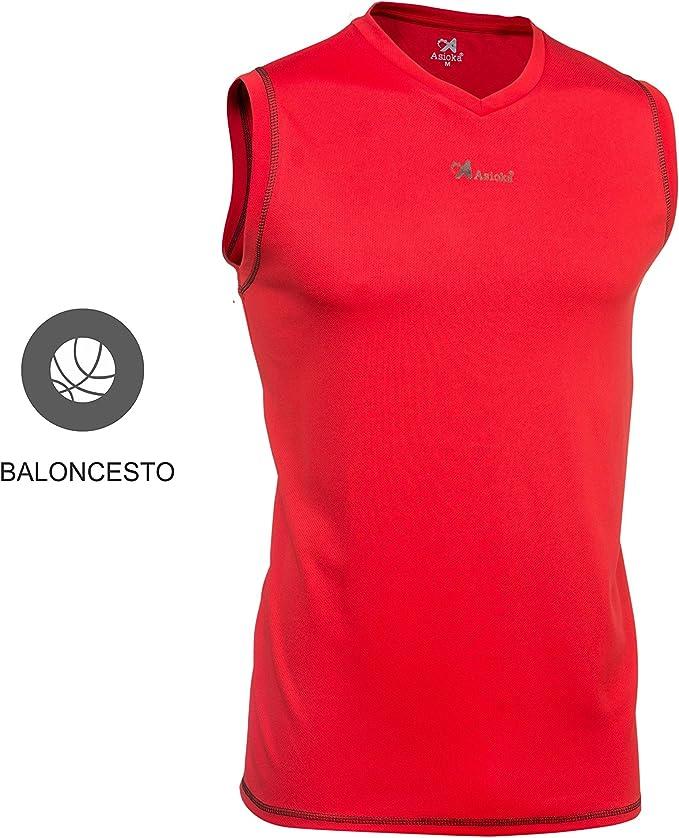 Asioka 184/17 - Camiseta de Baloncesto sin Manga Unisex Adulto: Amazon.es: Deportes y aire libre