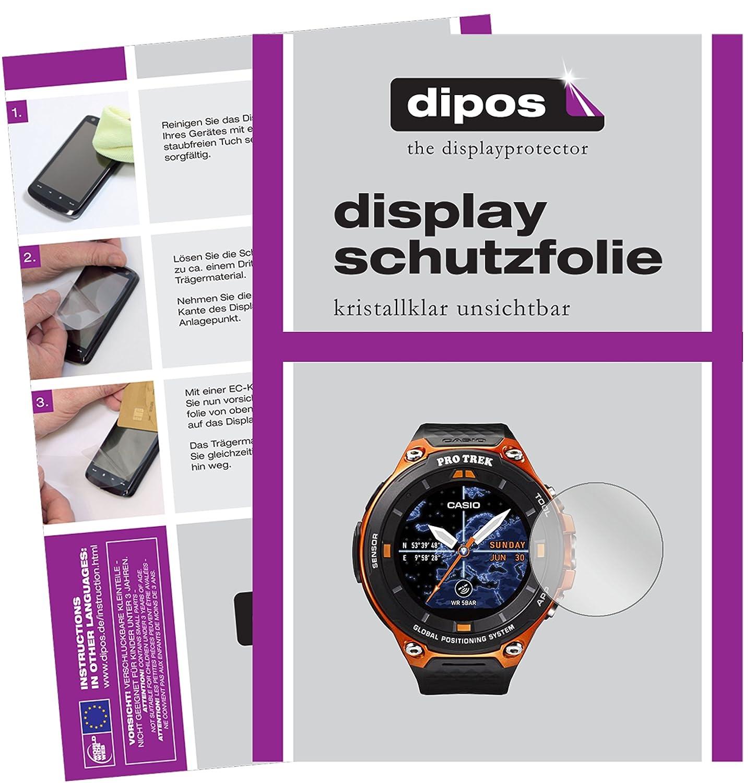 dipos I 6X Protector de Pantalla Compatible con Casio WSD-F20 ...