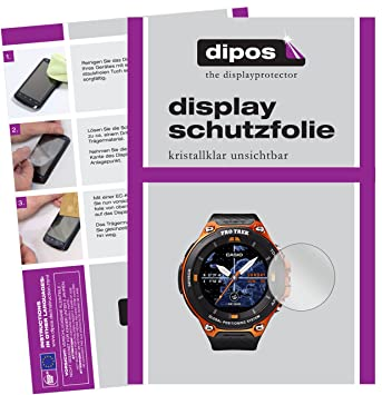 dipos I 6X Protector de Pantalla Compatible con Casio WSD ...