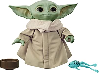 Star Wars - The Mandalorian - The Child - Baby Yoda - Talking Plush Toy with Character Sounds & Accessories - Kids Toys & Games - Ages 3+
