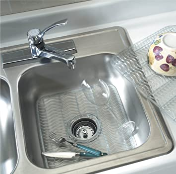 rubbermaid sink protector with built in microban antimicrobial dimensions1248x11 - Kitchen Sink Protector