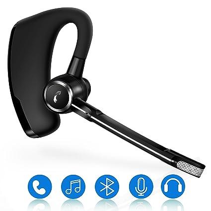 StillCool Bluetooth Auricular portátil inalámbrico de voz escuchar, Inteligente uno remolque Dos, Conmutación de