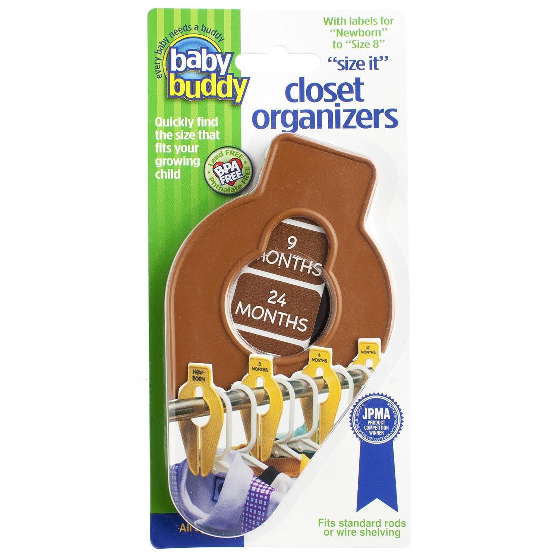Sage Baby Buddy Size-It Children//Baby Hanging Closet Organizer Dividers