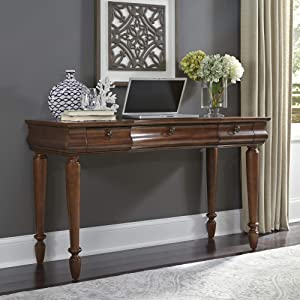 """Liberty Furniture Industries Traditions Vanity Desk, 52"""" x 19"""" x 30"""", Rustic Cherry"""