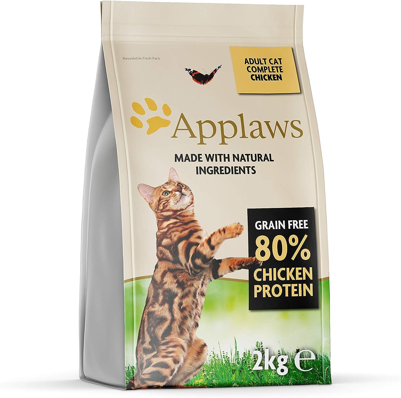 Applaws Comida seca para gatos, pollo/adulto, 2 kg: Amazon.es ...