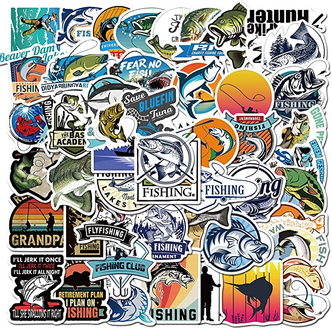 Go Fishing Stickers Pack
