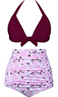 Amazon.com: Juymode - Bañador para mujer Bikini Push Up de ...