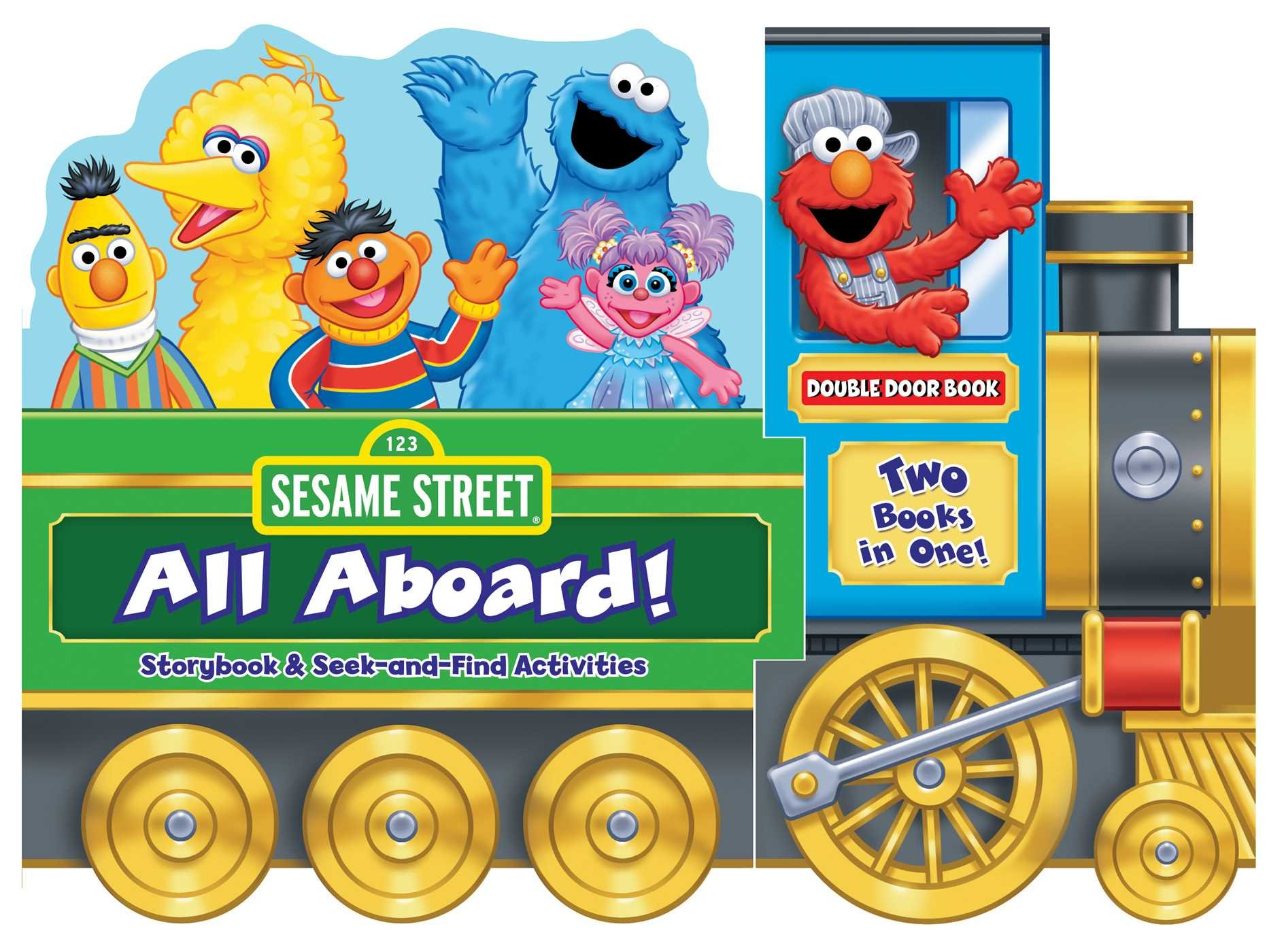 Sesame Street: All Aboard!: Storybook & Seek-and-Find Activities PDF