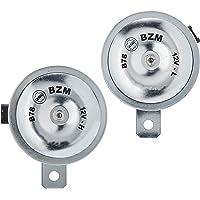 Buzinas Eletromagnética dupla 335Hz L e 410Hz H 12V. Conector MOLEX - B78 BZM