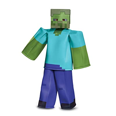 Minecraft Prestige Zombie Costume for Kids: Toys & Games