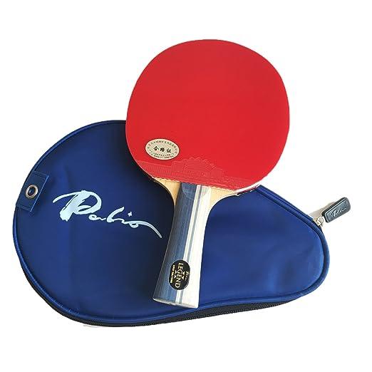5 opinioni per Racchetta da ping pong Palio Legend 2, con custodia