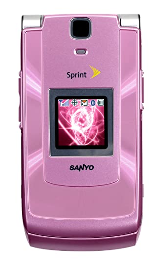 amazon com sanyo katana ii 6650 pink phone sprint cell phones rh amazon com Sprint Sanyo Katana Sprint Flip Phones