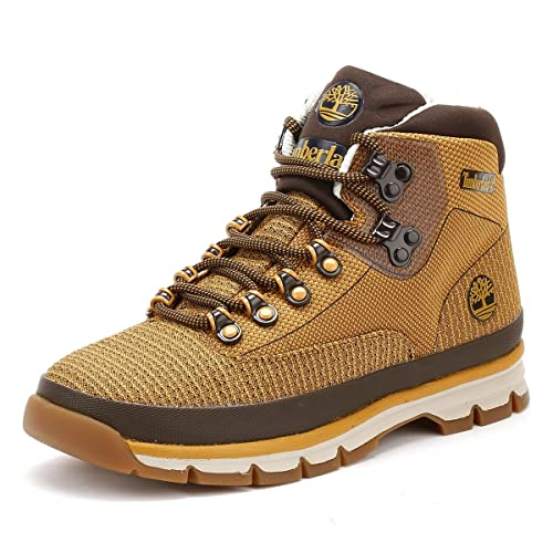 Timberland Uomo Wheat Euro Hiker Jacquard Stivali  Amazon.it  Scarpe ... 504ffe5a9a1