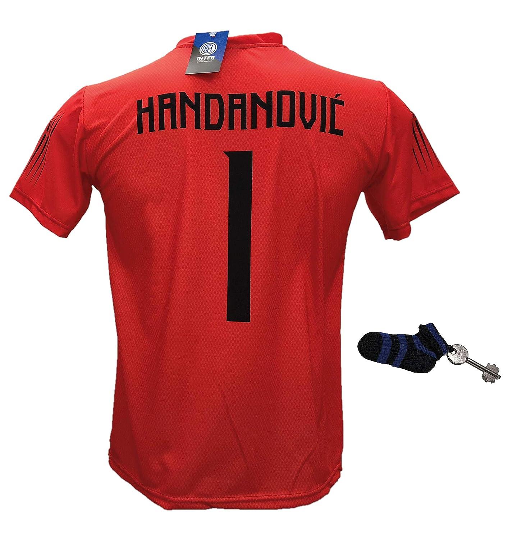 Camiseta de fútbol Inter Handanovic 1 réplica autorizada ...