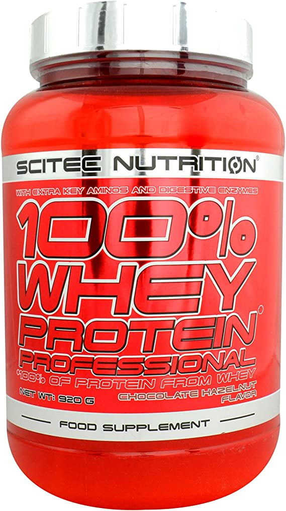 100% Whey Protein Professional 2 lb (920g) by Scitec