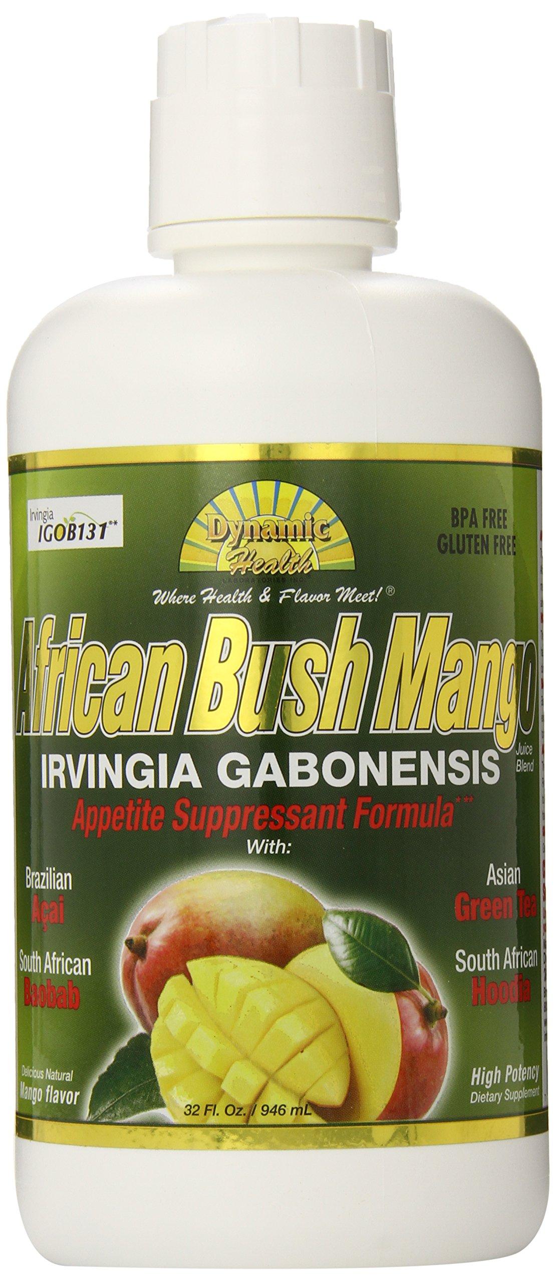 Dynamic Health African Bush Mango Juice Blend, 32 Oz. (Pack of 6) by Dynamic Health (Image #1)