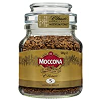 Moccona Classic Medium Roast Instant Coffee, 50 Grams
